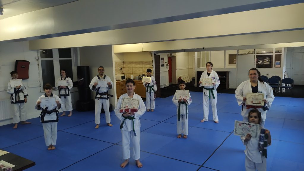 Blue Belt belt and Upwards Graduation